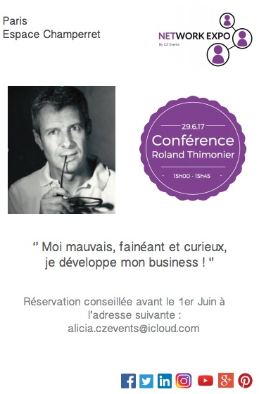 Roland Thimonier Flyer Confrence