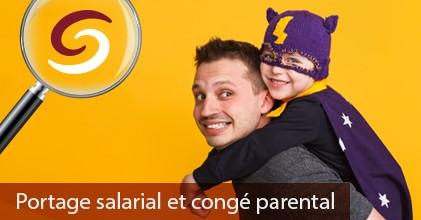 Portage salarial et congé parental visuel