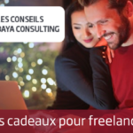 Idées de cadeaux de Noël pour freelances, consultants et télétravailleurs.